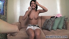 Kana is a fascinating Asian cutie with perfect tits, a divine ass and a passion for sex