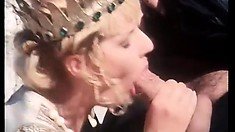 David Perry gets carnal with horny babe Laura Angel from Hamlet